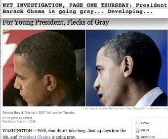 Shady Obama Barber Pushes Gray-Hair Story