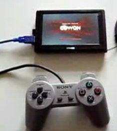 SNES Emulator Running on a Cowon Q5W