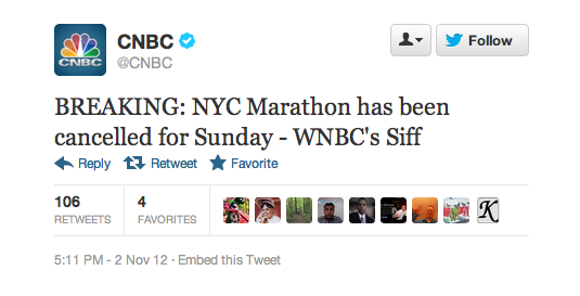 The New York City Marathon Has Been Canceled