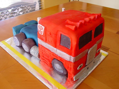 Optimus Prime Cake