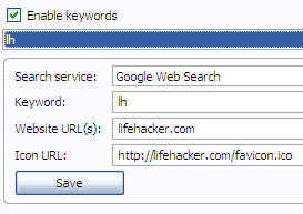 CyberSearch Integrates Search Results with Your AwesomeBar