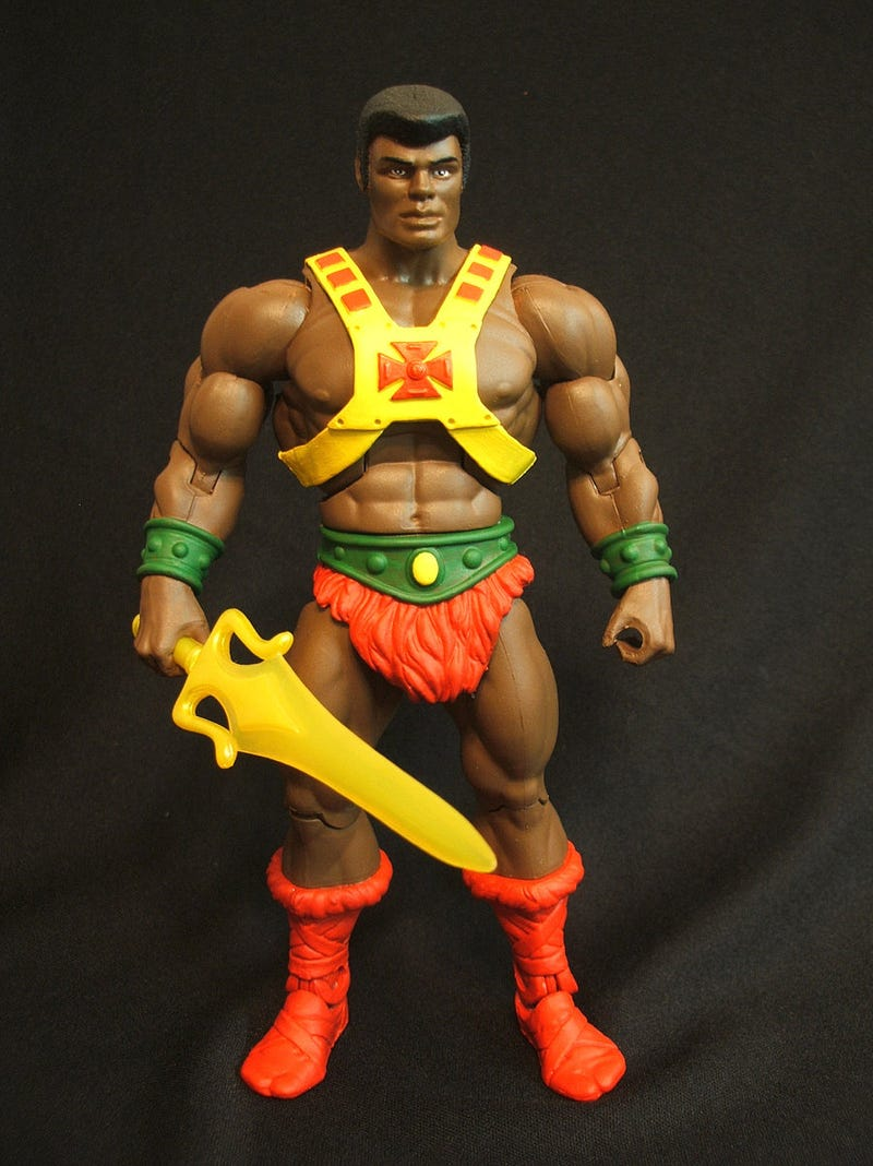 Black He-Man, Blonde Teela & Other Amazing Custom Masters of the Universe Figures