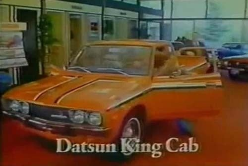1977 Datsun King Cab: 11.3 Cubic Feet Of Cab Space!