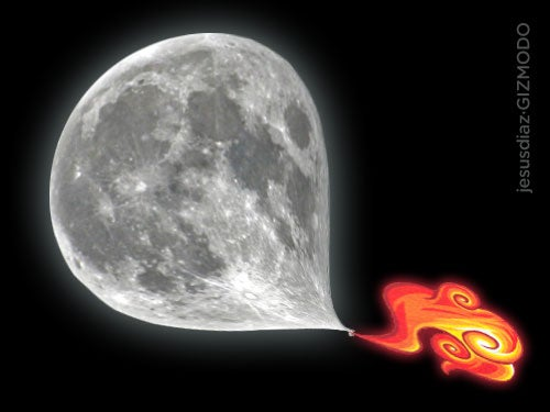 Why Is the Moon Shrinking?