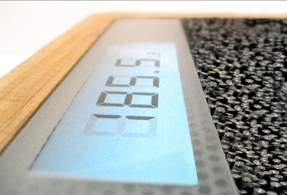 Bathroom Pin Scale Makes Knowing Your Weight Twice as Painful