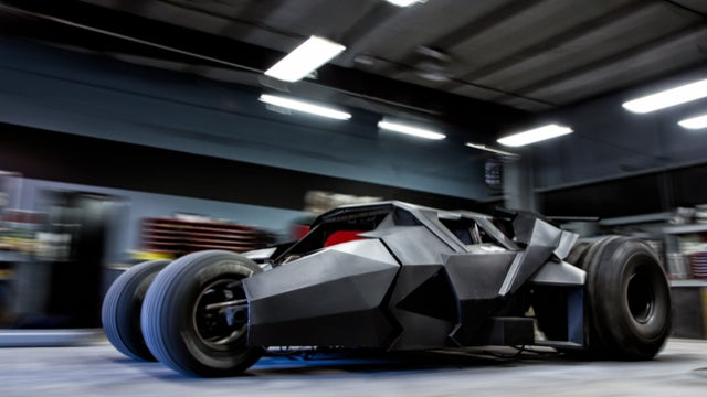 This Tumbler Replica Is About To Race Batman-Style Across Europe