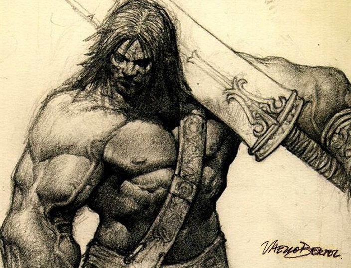 What is best in life? Epic Barbarian Art!