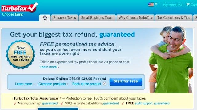 Most Popular Tax Preparation Tool: TurboTax