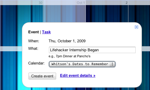 Create a Calendar to Keep Track of Important Past Dates, Not Just Future Ones