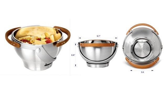 Consolidate Kitchenware With This Colander-Serving Bowl Hybrid