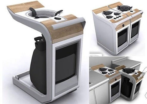 Range Kitchen Concept, for Mobile Cooking at Home