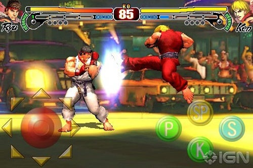 Street Fighter IV on iPhone Brings New Definition to Sore Thumbs