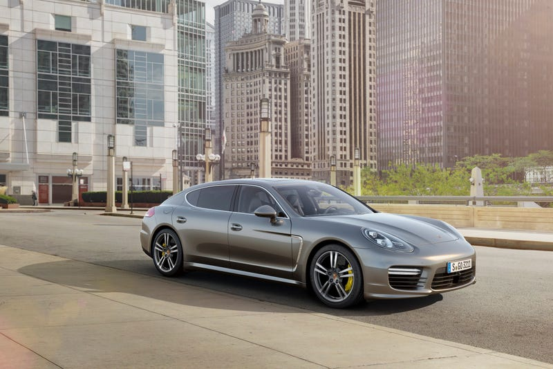 The 2014 Porsche Panamera Turbo S Is A $200,500 Porsche Sedan