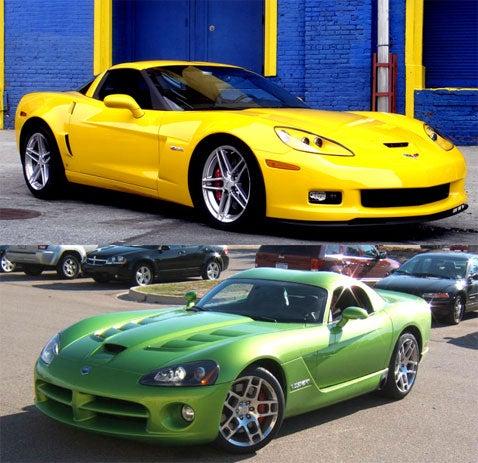 Viper or Corvette?