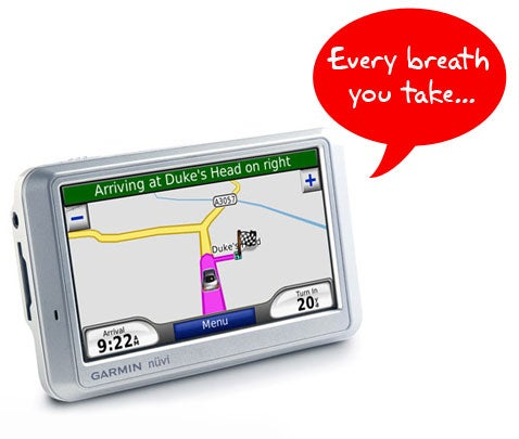 Your GPS Unit Can Tattle on You In Court