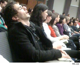 Overworked James Franco Sleeping His Way Through Grad School