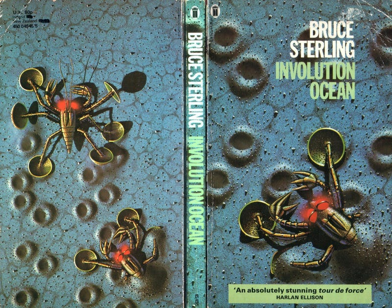 """Bruce Sterling's Advice for New Science Fiction Authors: """"Trying to ace your way through collapsing industries is a drag"""""""