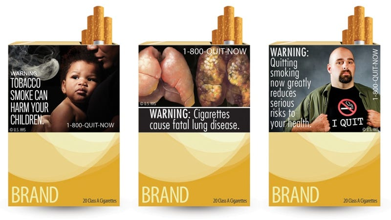 Court Rules FDA Can't Shame Smokers With Gross Cigarette Labels