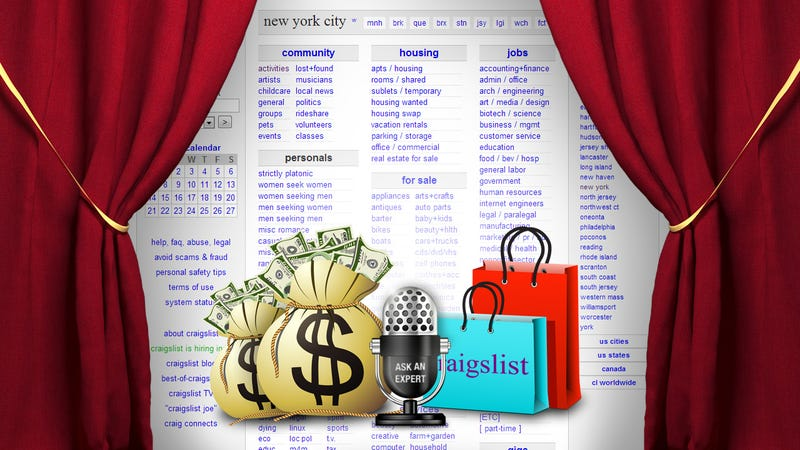 Ask an Expert: All About Buying and Selling on Craigslist