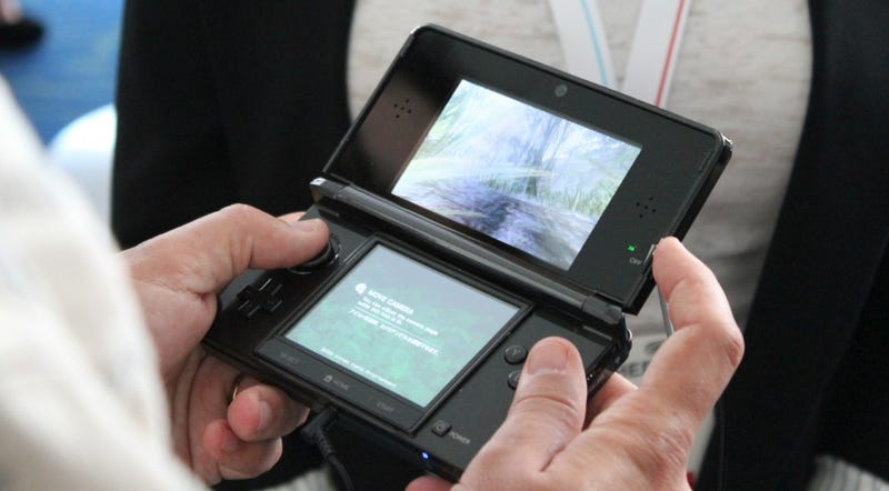 Nintendo Testing Healthiness Of 3DS, Advising Young Children To Avoid 3D