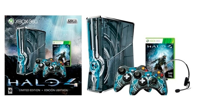 Custom Halo 4 Xbox 360 Bundle Leaks Ahead of Microsoft's Official Announcement
