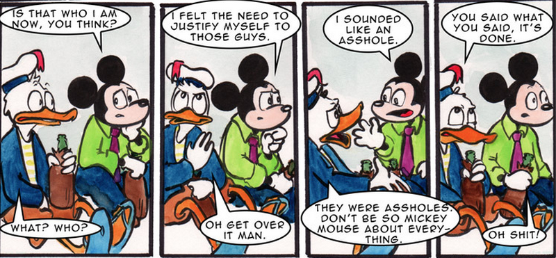 Mickey Mouse Feels Terrible About Being Mickey Mouse