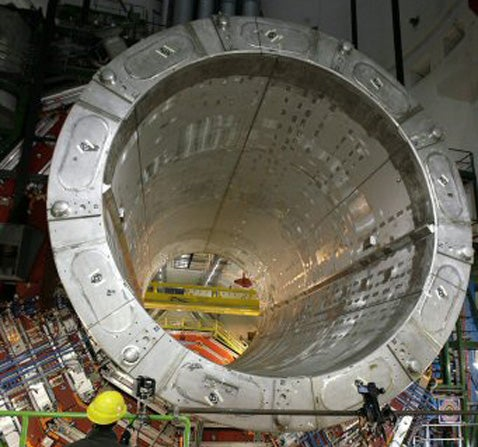 A Supermagnetic Tunnel Full of Subatomic Action