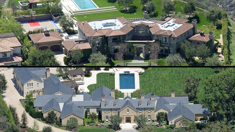 Mold, Paps, Cheesy Design: All the Kardashians' Houses Are Disasters