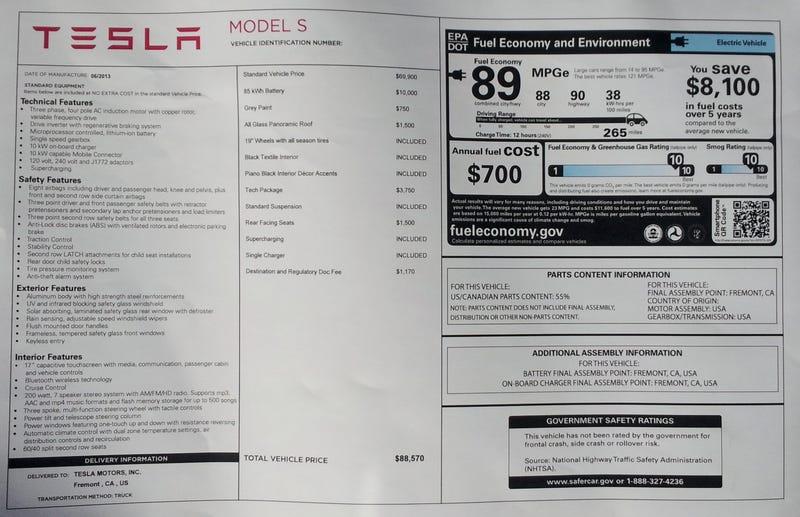 2013 Tesla Model S – The Oppositelock Review (87/100)