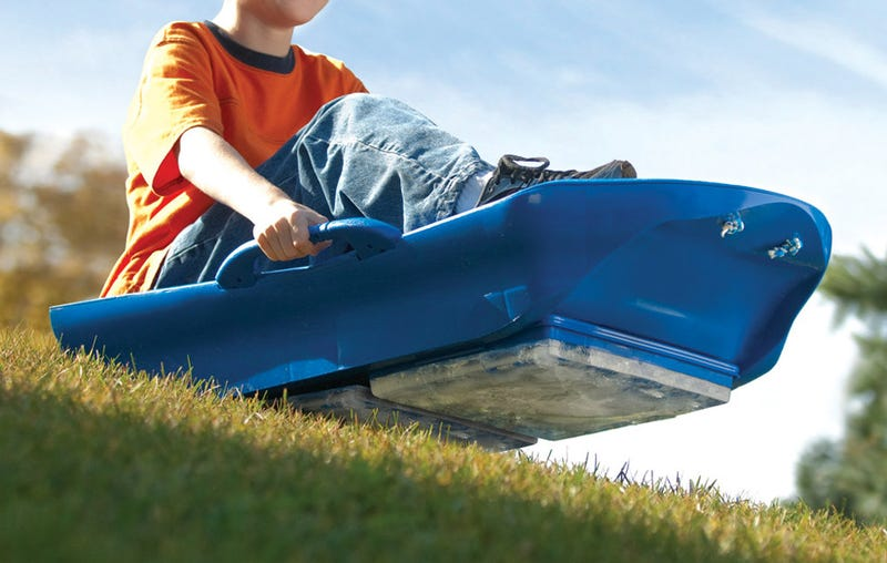 How To Go Sledding When There's No Snow