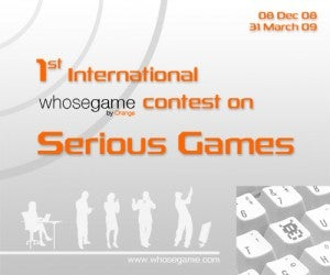 Serious Games Competition Is Serious Business