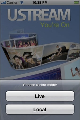 Ustream Streams Live Video from Your iPhone 3GS
