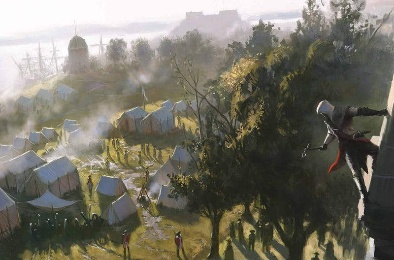Three Entire Countries Had Their Assassin's Creed III Shipments Stolen