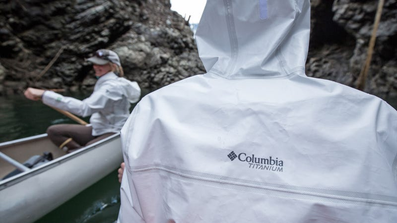 Columbia's New Recycled Rain Jackets Are An Eco-Friendly Way to Stay Dry