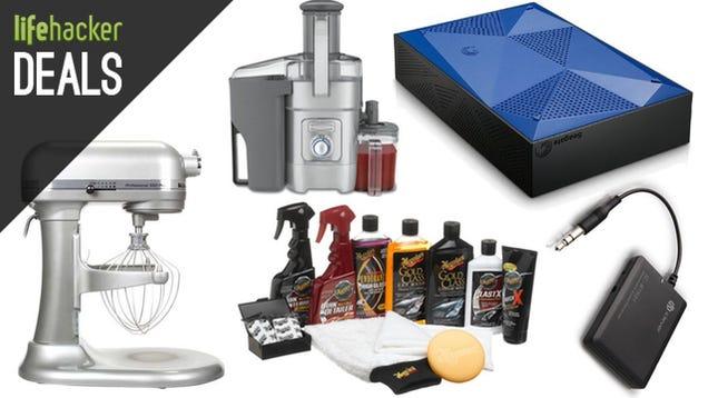 Deals: Two KitchenAid Mixers, $80 AC Router, Refurb iPhones, 5TB