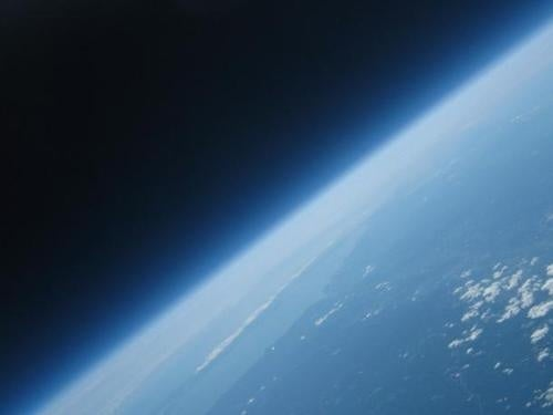A $150 Space Camera Took This Photo Of The Earth