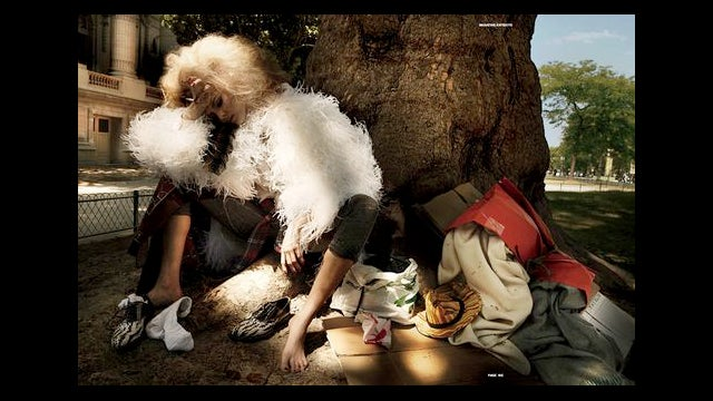 New Homeless-Inspired Fashion Spread Is Super Tasteful!