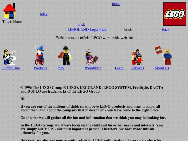 Old Websites Sure Are Funny