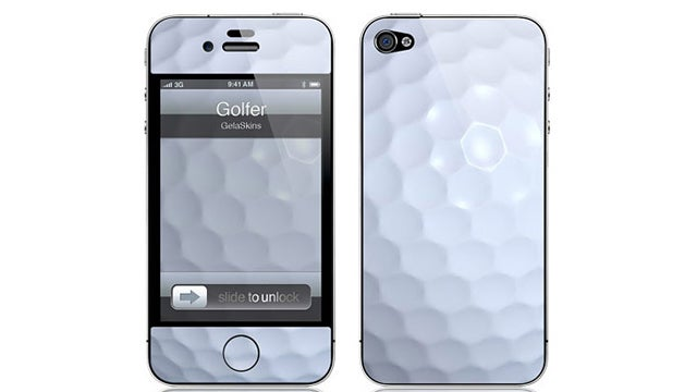 Golfer iPhone Skin = Perfect Last-Minute Father's Day Gift