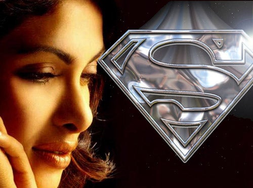 Bollywood Diva May Steal Superman's Heart