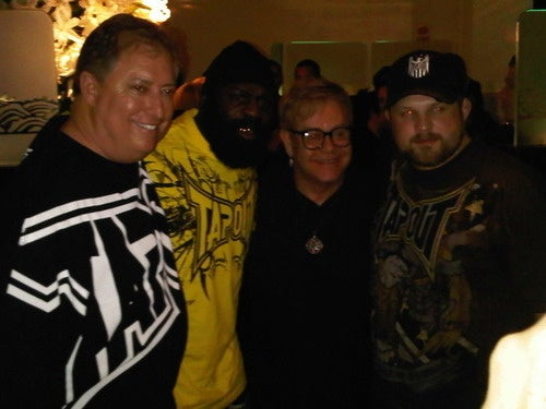 Here's Kimbo Slice And Elton John, Just Because