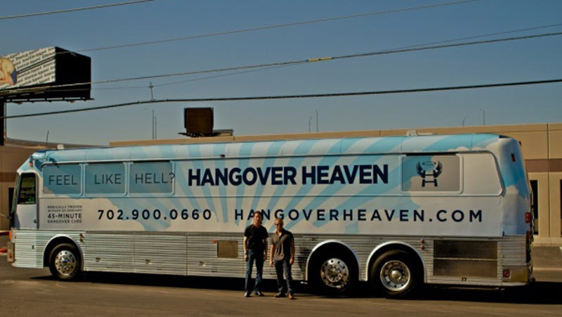 Now There's a Party Bus That Will Inject You With Magical Fluids and Cure Your Hangover