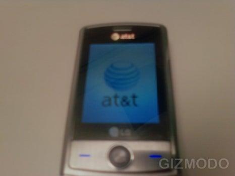 AT&T LG Shine Spy Shots