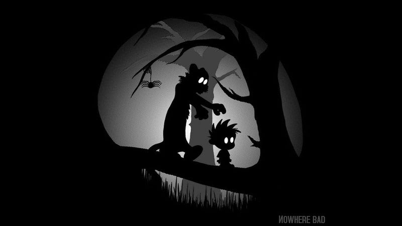 I Would Kill For This Limbo-Meets-Calvin and Hobbes T-Shirt