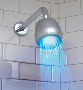 Color-Changing LED Shower Head Actually Purchasable