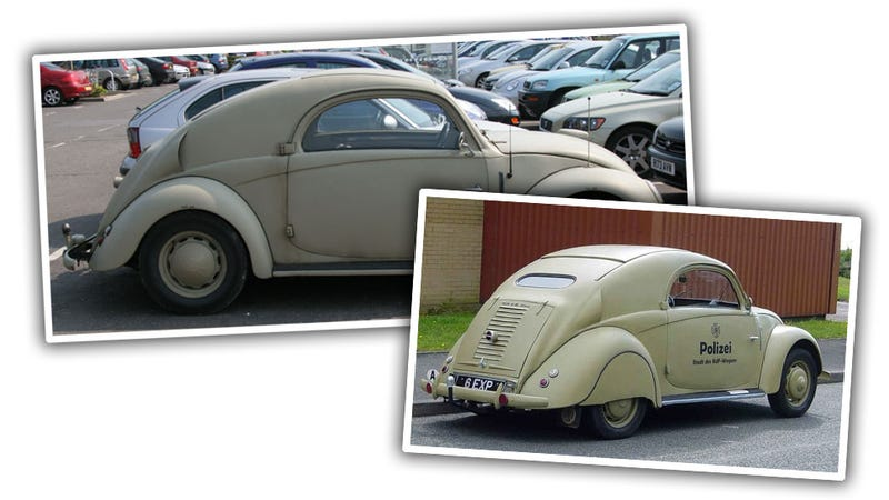 The True Story Behind This Mysterious Mutant VW Beetle