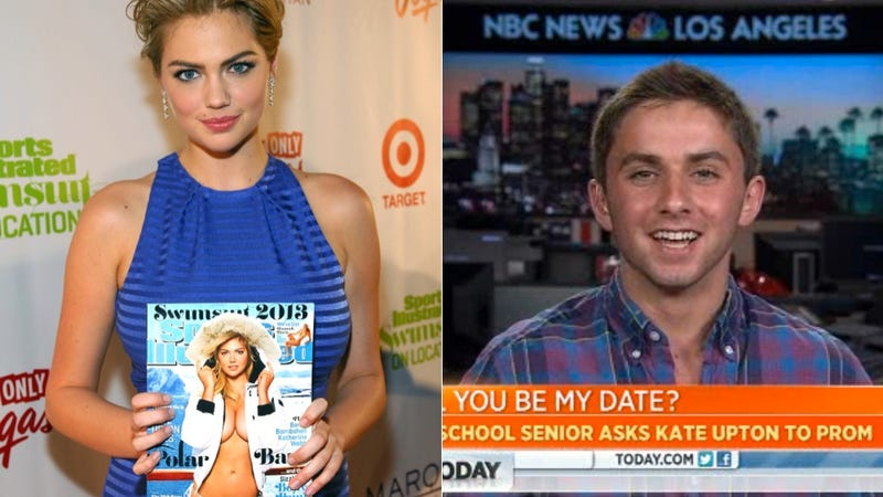 Nice Try, Kid, But Kate Upton's Probs Too Busy to Go to Your Prom