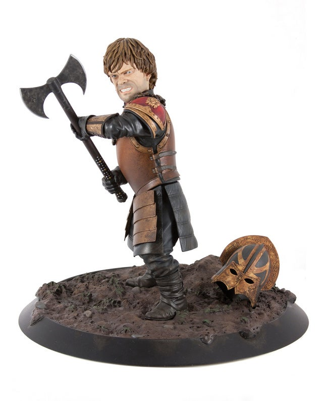 Tyrion Lannister Statue is Just Like The Man Himself: Small, Yet Impressive