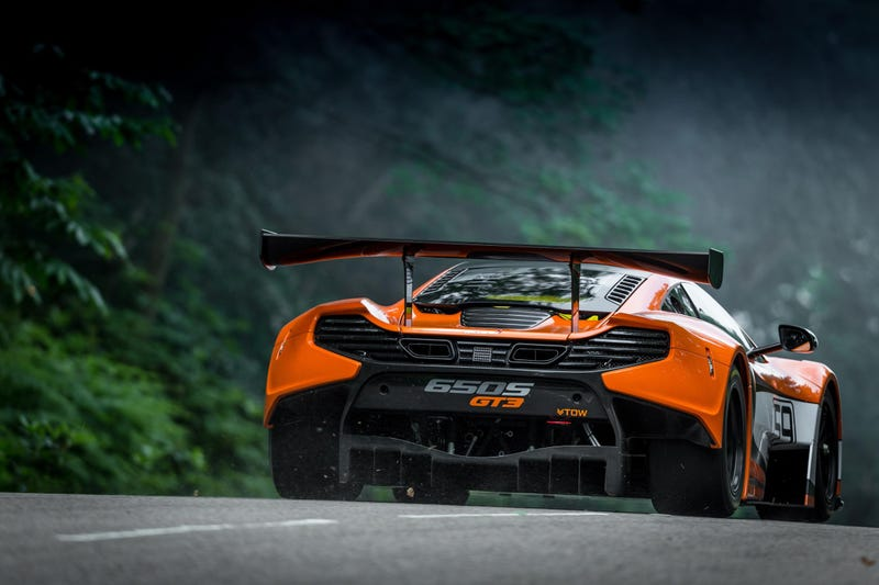 The 650S GT3 Is McLaren's Sinister Lightweight Hardcore Racer