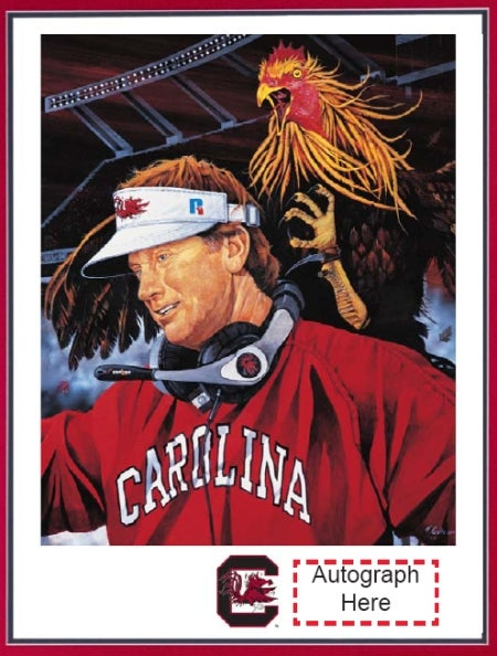 Steve Spurrier Inspires Great Art